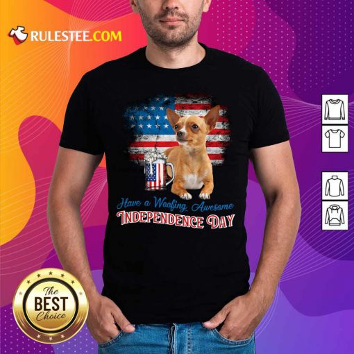 Chihuahua American Independence Day Shirt
