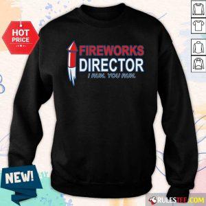 Fireworks Director I Run You Run Sweater