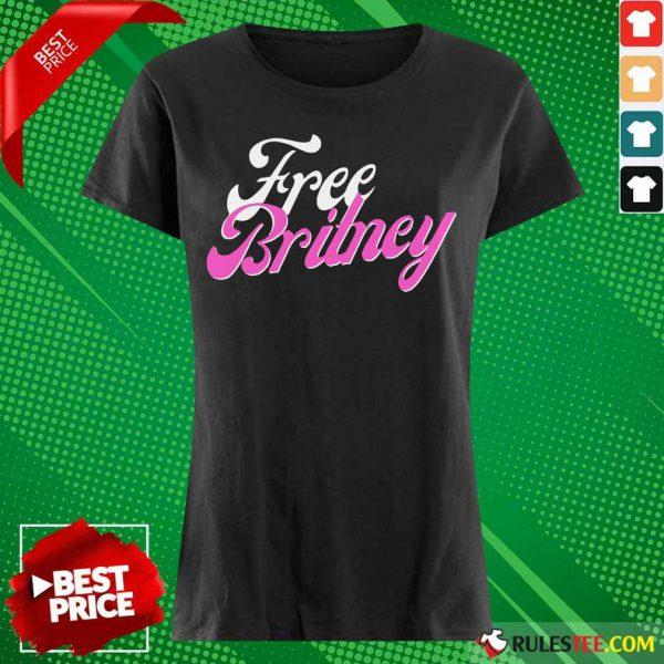 Free Britney Movement Ladies Tee