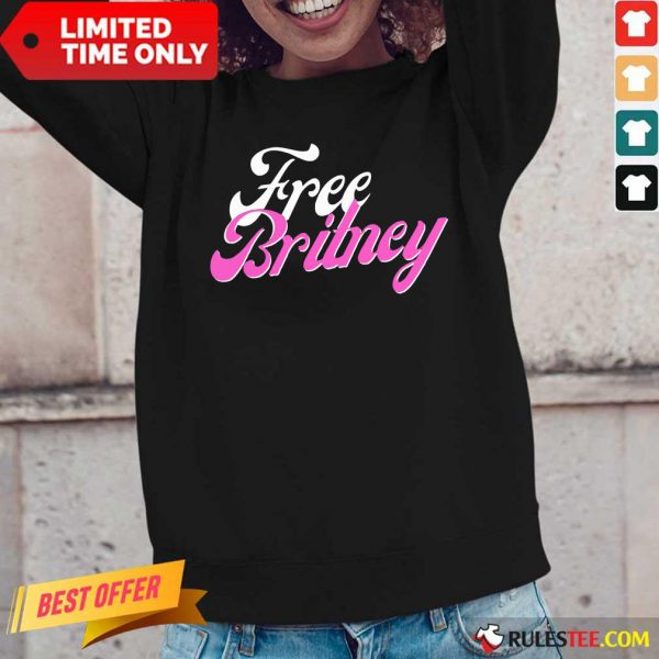Free Britney Movement Long-Sleeved