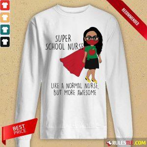 Girl Super School Nurse Long-Sleeved