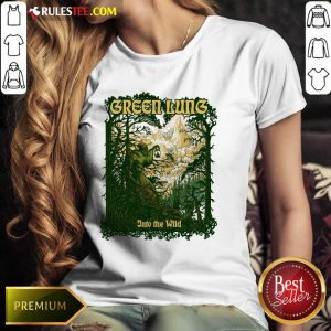 Green Guns Into The Wild Ladies Tee