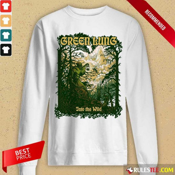 Green Guns Into The Wild Long-Sleeved