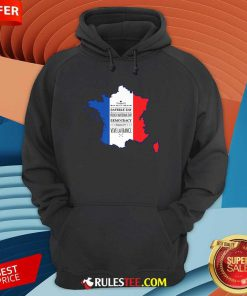 Happy Bastille Day Vive La France Hoodie