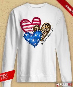 Heart USA Leopard Paraprofessional Long-Sleeved