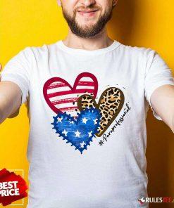Heart USA Leopard Paraprofessional Shirt