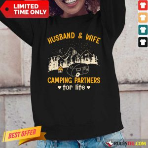 Husband And Wife Fishing Partners Long-Sleeved