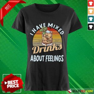 I Have Mixed Drinks Bartender Ladies Tee