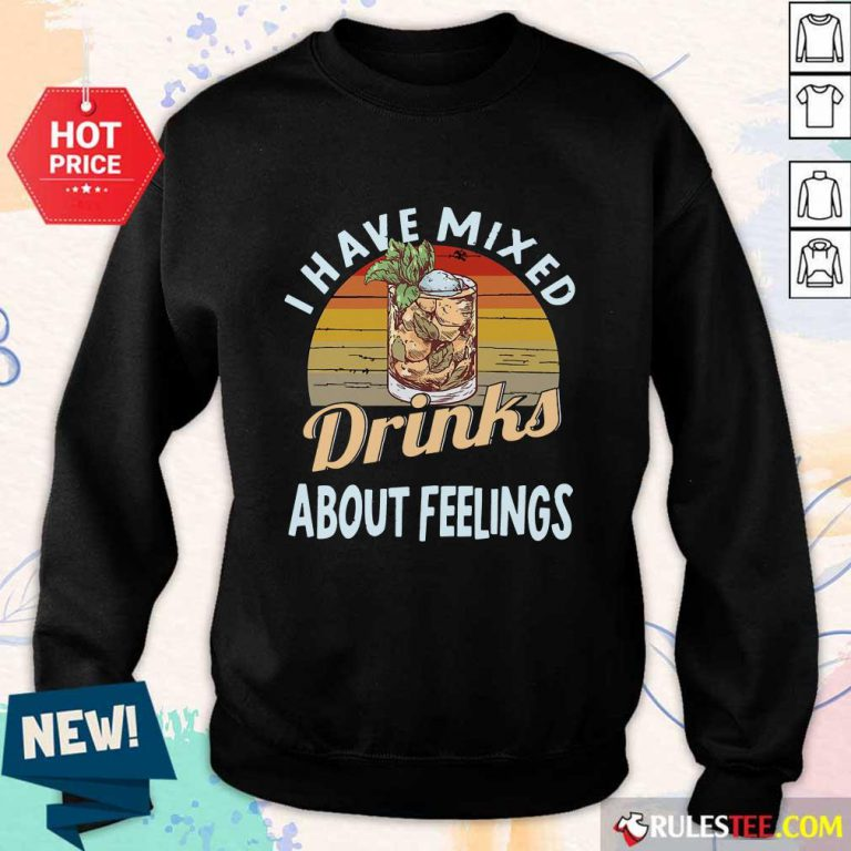 I Have Mixed Drinks Bartender Sweater