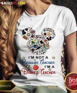 I'm A Disney Teacher Ladies Tee