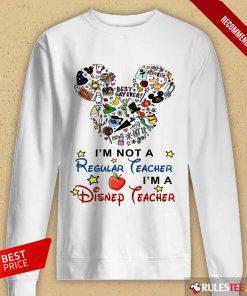 I'm A Disney Teacher Long-Sleeved