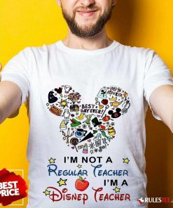 I'm A Disney Teacher Shirt