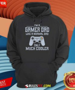 I'm A Gamer Dad Much Cooler Hoodie