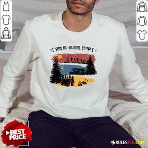 Je Suis Un Homme Simple Camping Sweater