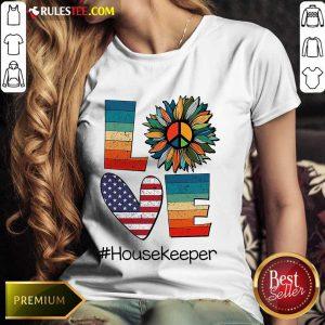 Love Housekeeper Ladies Tee