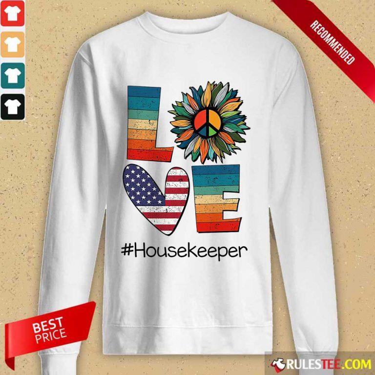Love Housekeeper Long-Sleeved