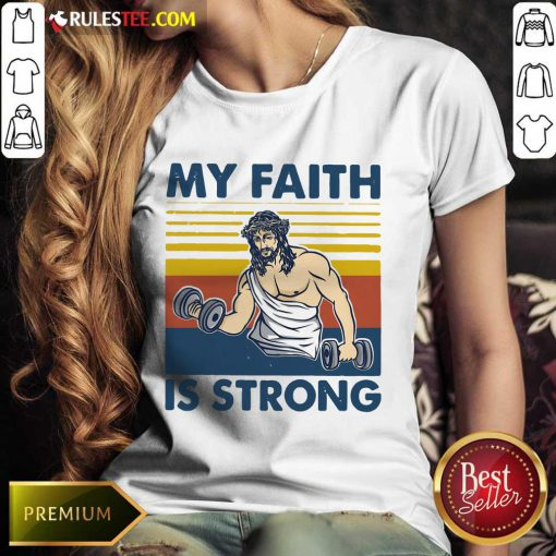 My Faith Is Strong Ladies Tee