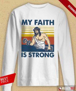 My Faith Is Strong Long-Sleeved