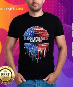 Registered Nurse American Flag Shirt