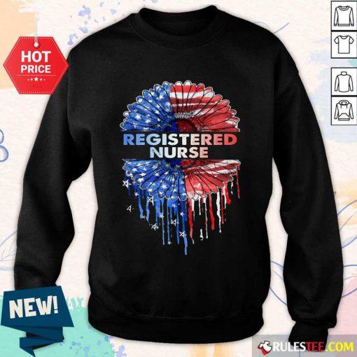 Registered Nurse American Flag Sweater