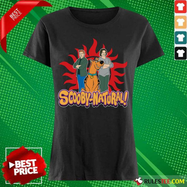 Scooby Doo And Supernatural Scooby Natural Ladies Tee
