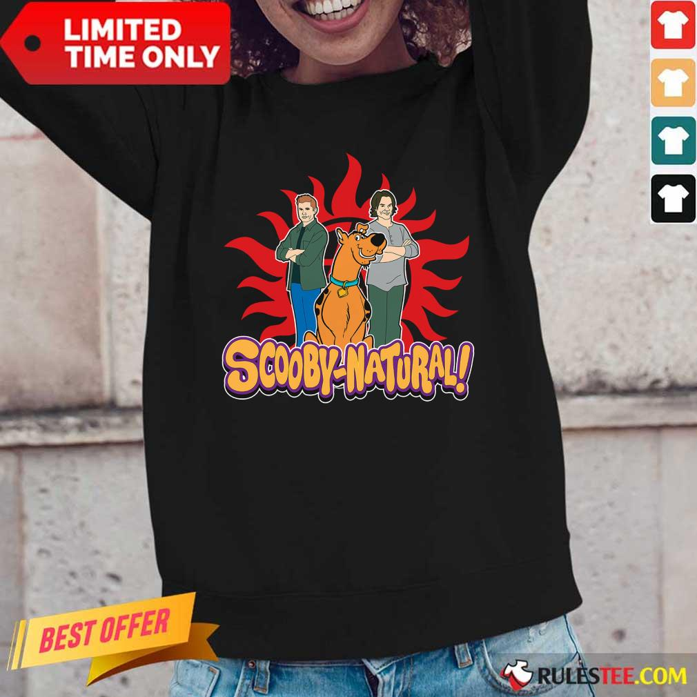 Scooby Doo And Supernatural Scooby Natural Long-Sleeved