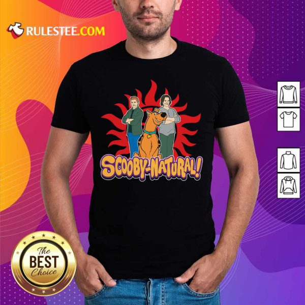 Scooby Doo And Supernatural Scooby Natural Shirt