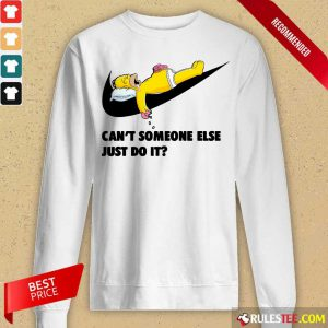 Simpson Can't Someone Else Just Do It Long-Sleeved