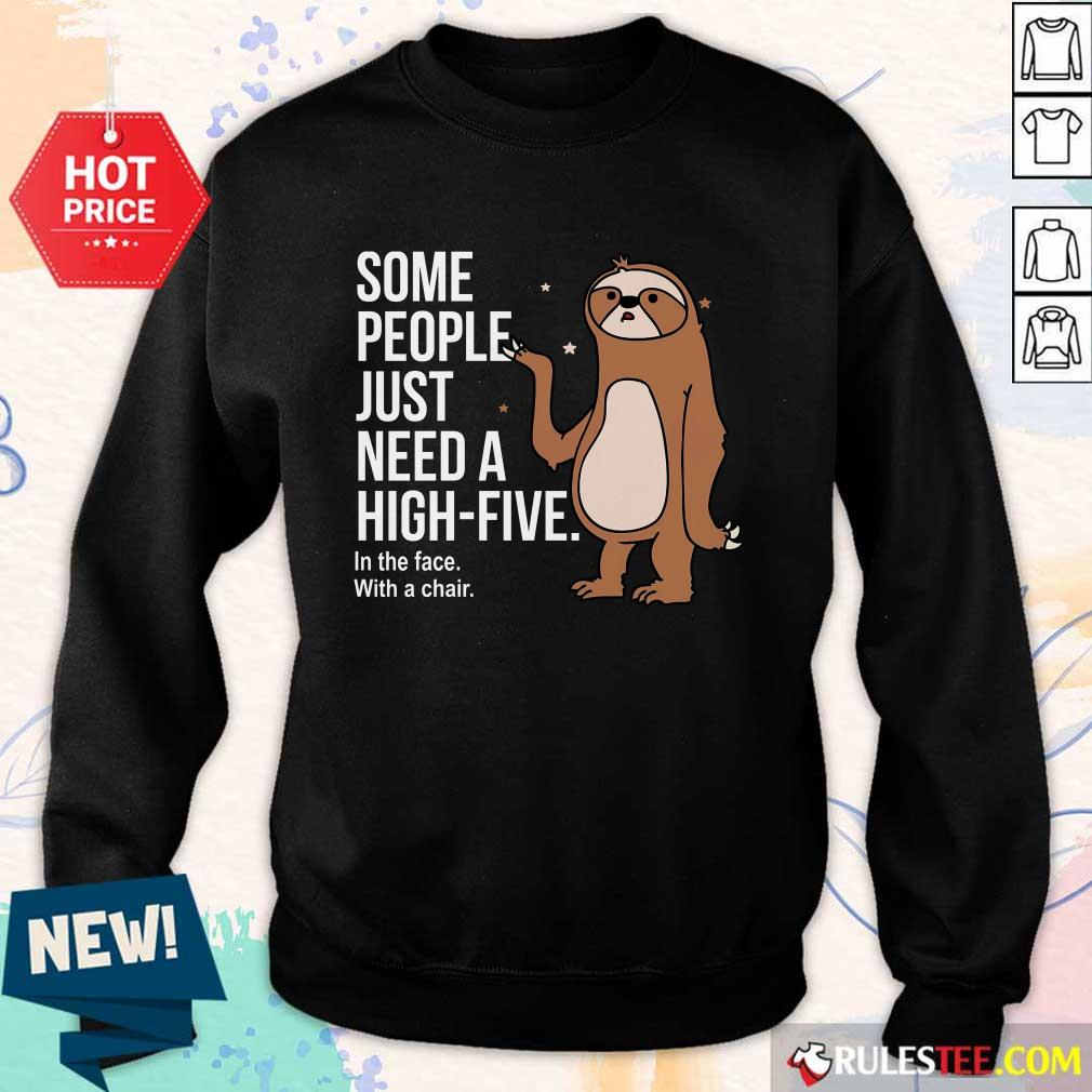 Sloth Just Need A High Five Sweater