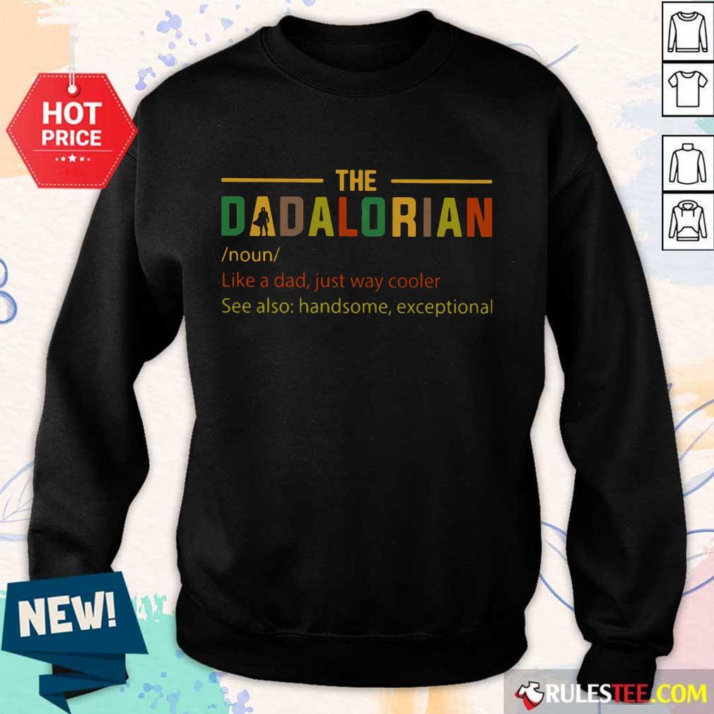 The Dadalorian Noun Vintage Sweater