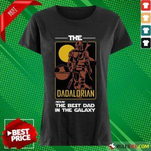 The Dadalorian The Best Dad Ladies Tee