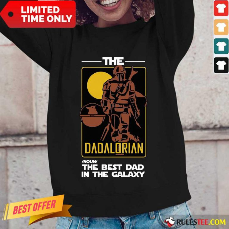 The Dadalorian The Best Dad Long-Sleeved