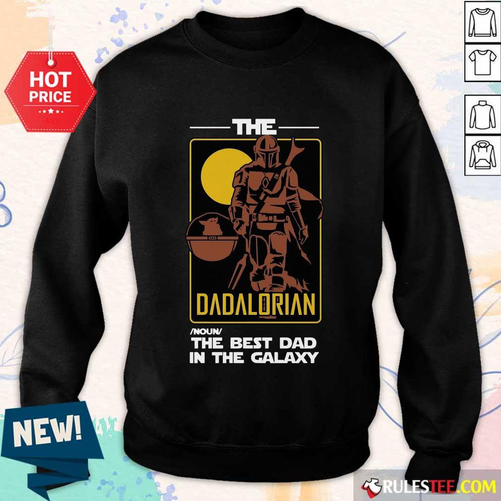 The Dadalorian The Best Dad Sweater