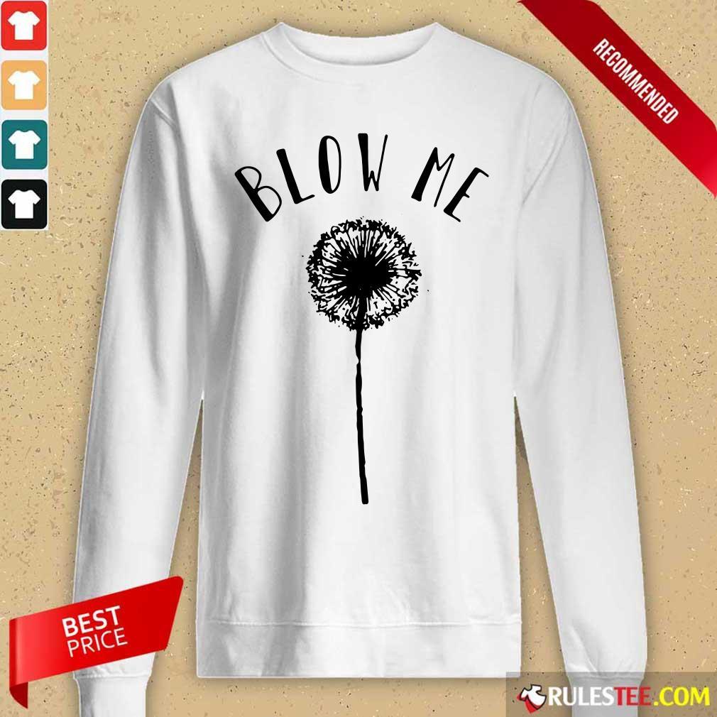Top Dandelion Blow Me Long-Sleeved