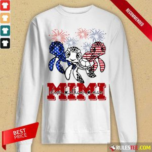 Turtle Mimi Olive Than Mai 4th Of July Long-Sleeved