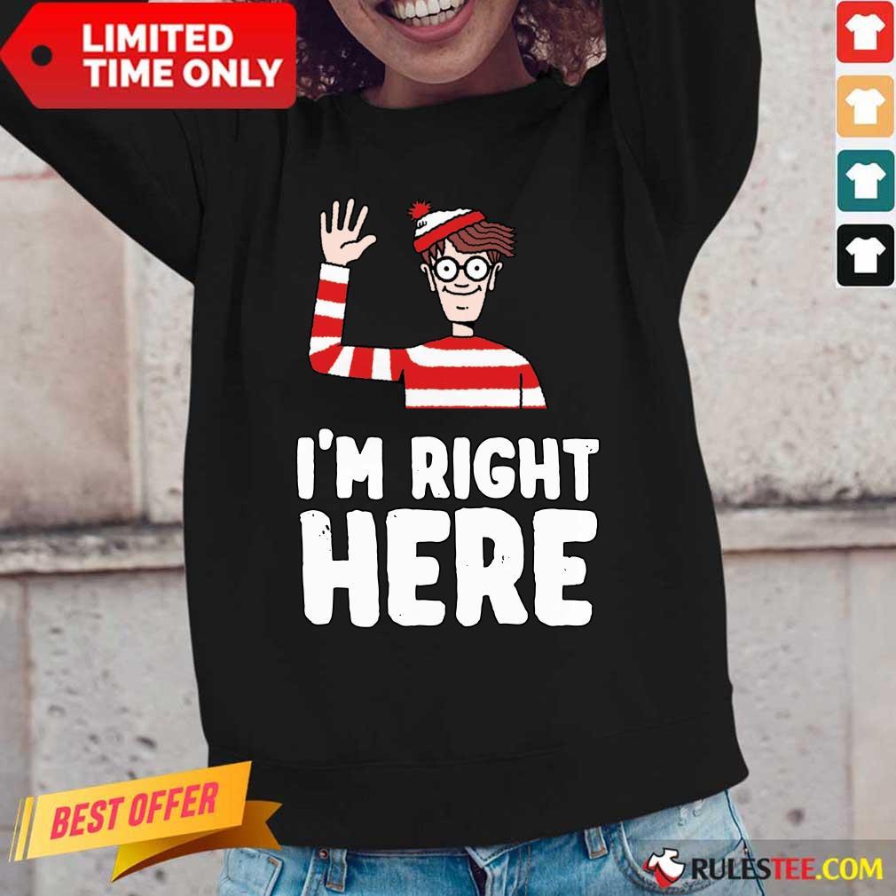 Where's Waldo I'm Right Here Long-Sleeved