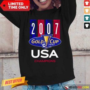 2007 Concacaf Gold Cup USA Champions Long-Sleeved