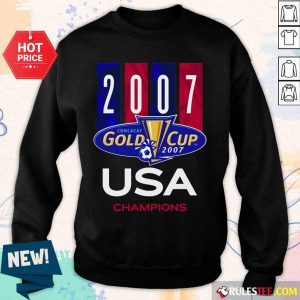 2007 Concacaf Gold Cup USA Champions Sweater