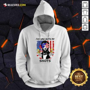 Abraham Lincoln I've Had Both My Shots American Flag 4th Of July Hoodie