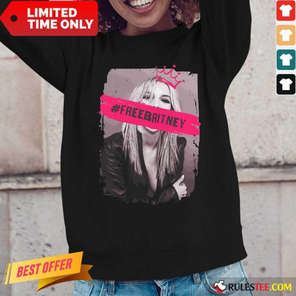 Be Strong Free Britney Long-Sleeved