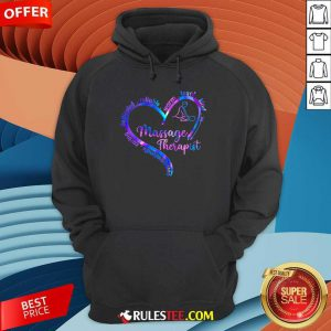 Compassionate Caring Dedicated Reliable Warm Loyal Kind Massage Therapist Hoodie