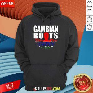 Gambian Roots Gambia Pride Flag Hoodie