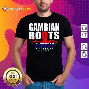 Gambian Roots Gambia Pride Flag Shirt