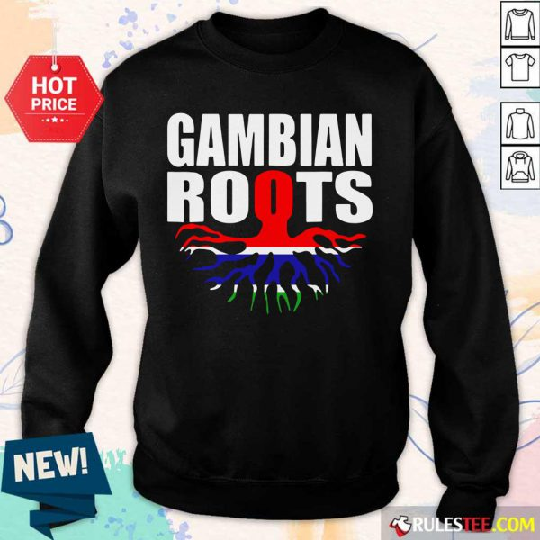Gambian Roots Gambia Pride Flag Sweater