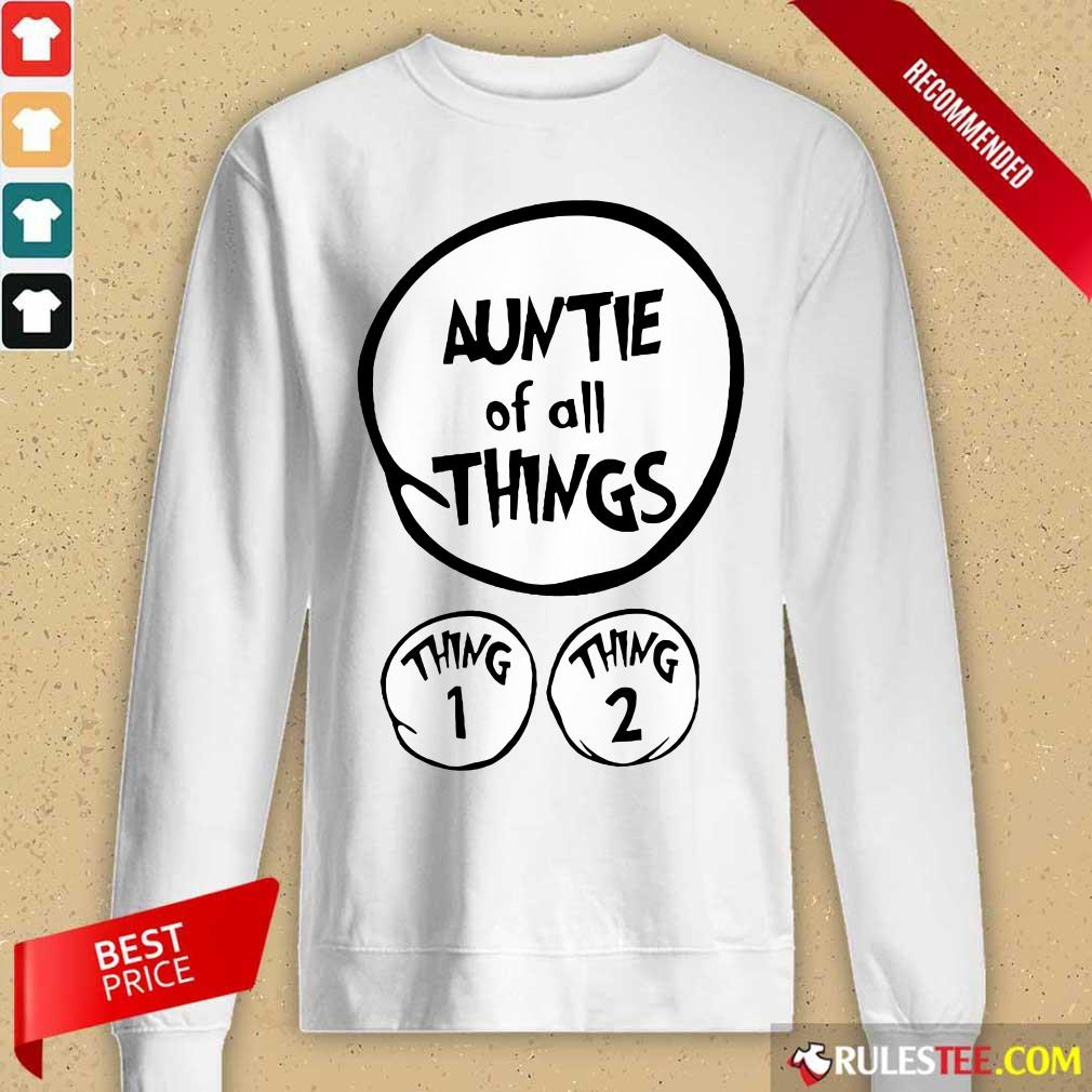 Hot Auntie Of All Things Long-Sleeved