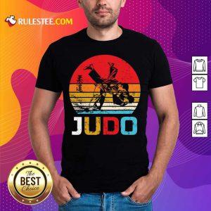 Judo Sunset Throw Vintage Shirt