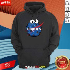 NASA Space Cookies Hoodie