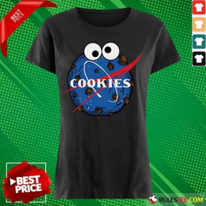 NASA Space Cookies Ladies Tee