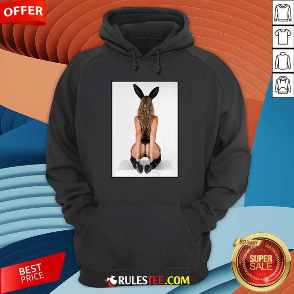 Sexy Girl Graphic Tee Bad Bunny Pinup Girl In Handcuffs Hoodie
