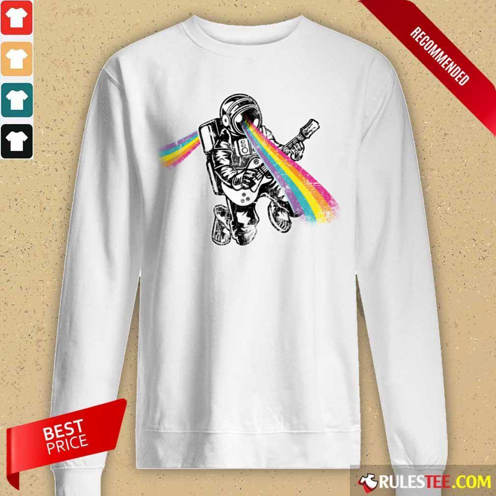 Space Astronaut Rainbow LGBT Long-Sleeved